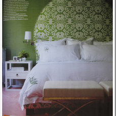 Traditional  Victoria Webster's Hollywood Regency Home (via House & Home magazine)