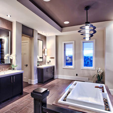 Contemporary Bathroom by Pacific Stone Fabrication