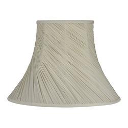 """Laura Ashley - Laura Ashley SFW617 Classic 7.5"""" Cream Faux Silk Bell Shade - Laura Ashley SFW617 Classic 7.5"""" Cream Faux Silk Bell Shade"""