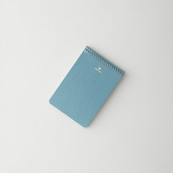 Postalco Pressed Cotton Notebook - Some people say that they get their best ideas in the shower, but for me, it's always right before I drift off to sleep. I've taken to keeping a small notebook on my bedside table, just to make sure I can jot down any bits of brilliance.