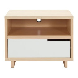 Blu Dot - Modu-licious Bedside Table by Blu Dot - Get personal in the bedroom. The Blu Dot Modu-licious Bedside Table allows you to mix and match drawer and cabinet colors for a look that best represents your own personal style. Designing arguments shouldn't be the subject of pillow talk--get two and each choose your own design! In 1997, Blu Dot was established in Minneapolis by three college friends with a shared passion for art, architecture and design. Then and today, their goal is to bring good design to as many people as possible, collaborating to create modern home furnishings and accessories that are useful, affordable and exceedingly desirable.