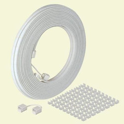 CabLED - CabLED Garden Hose. 78 ft. LED Indoor/Outdoor Extension Kit - Shop for Lighting & Fans at The Home Depot. The easiest and most versatile water resistant linear LED lighting product that can be easily customized to suit any indoor or outdoor task and accent lighting application. CabLED can be cut and reconnected in 7 in. increments and supports a complete line of accessories, connectors and mounting hardware. Cabled linear LED lighting strips last 35,000 hours and provide over 68 lumens per foot of light output.