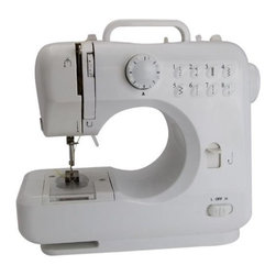 Michley Electronics - Desktop Sewing Machine Kit - Desktop sewing machine kit - Includes LSS505 desktop sewing machine 100pc sewing kit and FS101 handheld flectric scissors (battery operated 2AA).This item cannot be shipped to APO/FPO addresses. Please accept our apologies.