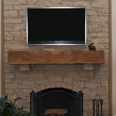 Modern Fireplace Accessories by Antique Beams & Boards