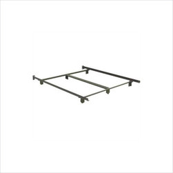 Hillsdale - Hillsdale 6-Leg Queen and King Bed Frame - Hillsdale - Bed Frames - 90056 - Made for use with and shipping with Hillsdale queen or king beds and now available separately for any purpose you need. The sturdy steel frame construction of a Hillsdale frame gives ensures that your bed will have a sturdy secure backbone.