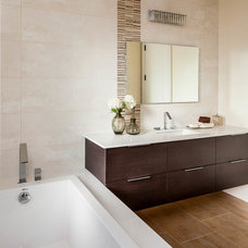 Contemporary Bathroom by David Eichler Photography