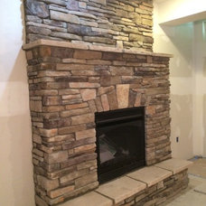 Transitional Fireplaces by The Fireplace & Patioplace
