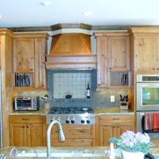 Traditional Kitchen Cabinets by Amy Shelton