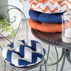 Valencia Bistro Outdoor Round Seat Cushion - 16 in. diam. - TheValencia Bistro Outdoor Round Seat Cushion - 16 in. diam. is extra lofty for comfort. Color your patio happy with the spirited color options. Made in the USA with spun polyester fabric and 100% spun polyester fiber filling.About Jordan ManufacturingA leader in the outdoor industry for over 29 years, Jordan Manufacturing Company, Inc. takes pride in the fact that quality and customer service have always been their top priorities. They realize that their commitment does not end with the sale. This is simply the starting point in a long-running relationship. Jordan believes the customer is the ultimate judge of their products and their customers have proven their loyalty since 1975.