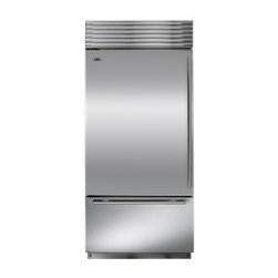 "Sub-Zero 36"" Built-In Over-and-Under Refrigerator/Freezer - Sub-Zero's dual refrigeration, along with air purification and water filtration systems, guard the freshness of food and water."