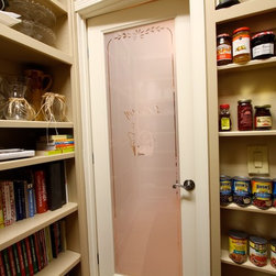 Traditional Pantry Cabinets -