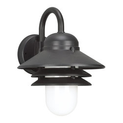 Sea Gull - Sea Gull One Light Outdoor Wall Lantern - Width: 10 1/4''