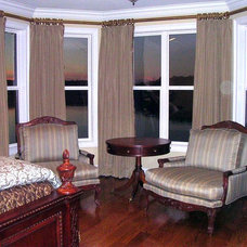Traditional Bedroom by Lady Dianne's Custom Window & Bed Treatments