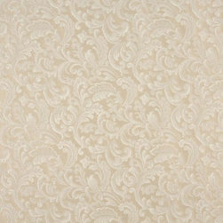 Beige And Off White Leaves Upholstery Fabric By The Yard - Naturally colored upholstery fabrics are warm and inviting, which make this an excellent choice for any room! Of course, this fabric is excellent for correlating with other furniture.