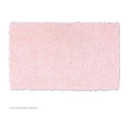 The Rug Market - Coral Kids Pink area rug -