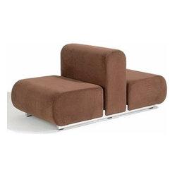 Knoll - Suzanne Double Lounge Chair | Knoll - Design by Kazuhide Takahama, 1965.
