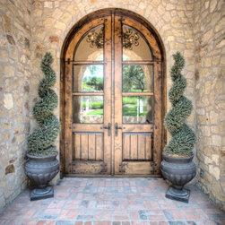 Custom Exterior Doors - Custom Arched Front Doors
