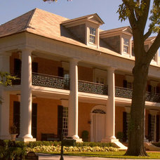 Traditional Exterior by Richard Drummond Davis Architects