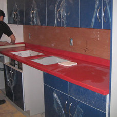 Contemporary Kitchen Countertops by Replacementcounters.Com