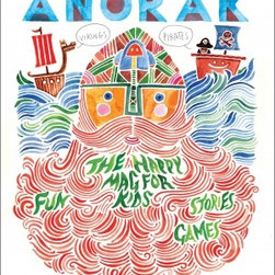 Anorak Magazine, Vikings And Pirates - I love Anorak. It's a quirky UK kids magazine with a lot of stories and inspiration. Each issue has a theme and is timeless — like this pirates and vikings edition!