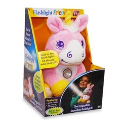 As Seen On Tv - Flashlight Friends Pink Unicorn - Make nighttime fun for your kids with Flashlight Friends, the super soft and cuddly stuffed animal with a built-in flashlight. These plush, huggable flashlights are perfect for sleepovers, story time, fear of the dark, and more.