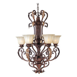 Maxim Lighting - Tuscan 5 Light ChandelierAugusta Collection - Lighting your life since 1970, Maxim Lighting is committed to offering you outstanding quality and satisfaction.