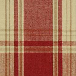 Pink Plaid Cotton Fabrics -