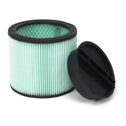 SHOP VAC - Shop-Vacuum 9033300 Antimicrobial Cartridge Filter - Ultra web cartridge filter is for small, dry debris and wet materials, can be used for both wet and dry pick-up. Filters airborne allergens and inhibits the growth of mold and bacteria. Fits full size vacs. Does not fit hang up vacs, 5 gallon contractor portable, floor master plus, all around plus, heavy-duty portable, 1x1, bulldog, portable, mighty mini, mini hang up, hippo or all around with 1-1/2 or 2 gallon tank sizes.