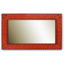 Eclectic Wall Mirrors by espacio sami hayek