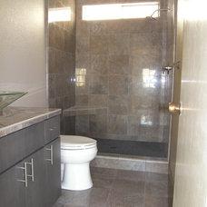 Contemporary Bathroom by Ed J Roualdes Contractor