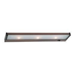 Sea Gull Lighting - Sea Gull Lighting 98042 Three Light Xenon Bulb Undercabinet Light - Three Light Xenon Bulb Undercabinet Light