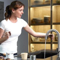 Kohler - Featuring New Kohler Products - http://www.us.kohler.com/us/Kitchen-New-Products-Sensate™-Touchless-Kitchen-Faucet/content/CNT16800041.htm