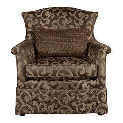 ART Furniture - Provenance Charlotte Skirted Swivel Chair - ART-176536-5014AA - Provenance Collection Swivel Chair