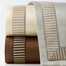 """Isabella Collection by Kathy Fielder - King Duvet Cover 110"""" x 98"""" - TRUFFLE (KING 110 X 98) - Isabella Collection by Kathy FielderKing Duvet Cover 110"""" x 98"""""""