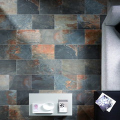 traditional floor tiles by Ceramic Tileworks