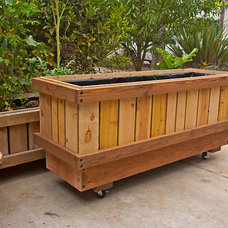 Modern Outdoor Planters by RollingPlanter