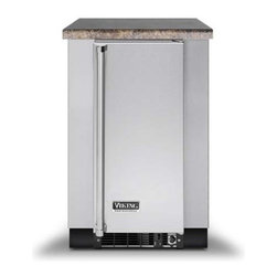 """Viking 30 Inch Deep Undercounter Refrigeration Base - Commercial-type construction, design and styling. All cabinets are constructed completely of heavy-duty stainless steel. Optional toe kick included. 24""""W x 30""""D x 34 1/2""""H refrigeration base. For use with Viking 15""""W refrigeration products."""