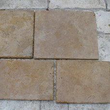 Mediterranean Floor Tiles by Vintage Elements LLC