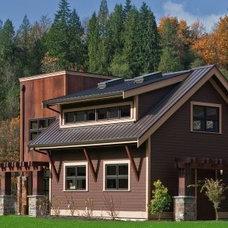Contemporary Exterior by Estate Homes Inc