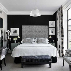 eclectic  black and white