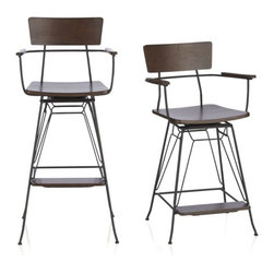 Industrial Bar Stools And Counter Stools Find Barstools And Kitchen Stools Online