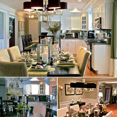 Traditional Kitchen by South Shore Decorating