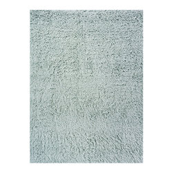 Momeni - Comfort Shag Mint Green - CS-10 - Rugs by Momeni - Reminiscent of the shag rugs of the 1970's, Comfort Shag is a modern take on a classic. Hand-tufted of 100% mod-acrylic, these rugs feature a soft hand and a thick, rich pile.