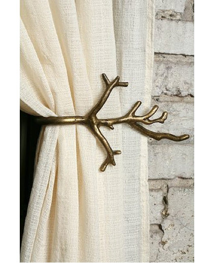 Eclectic Curtain Poles by Urban Outfitters