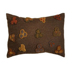 Homespice Decor - Homespice Decor Forget-Me-Not Throw Pillow Multicolor - 211781 - Shop for Pillows from Hayneedle.com! You'll instantly recognize these three-petalled blooms as monocots! The Homespice Decor Forget-Me-Not Throw Pillow offers hand-rendered harvest-toned flowers on a mocha-colored ground.About Homespice DecorProducing quality homemade products since 1998 Homespice Decor has become an industry leader in braided rugs (outdoor indoor wool cotton) and has expanded its line to include penny rugs rag rugs and its newest - Supernova rugs - which feature a swirling star braid design. Formerly known as J Quilts Company Homespice Decor shifted its focus from quilts to rugs pouring itself into the intricate details of braided rug craftsmanship. Homespice Decor is committed to providing affordable braided rugs of the highest quality in an abundance of sizes and styles.