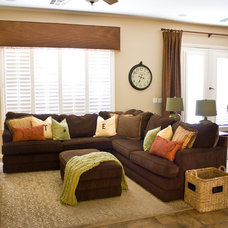Traditional Family Room by ReStyle Group