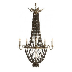 Aidan Gray - Aidan Gray Bilzen Chandelier - Color/Finish-Rustic BrownAll Chandeliers Come With Standard 7 Ft. Chain. Chandelier Pole Sold Separately. Refer to suggested products at the bottom of this page.