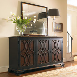Hooker Furniture - Hooker Furniture Two-Tone Credenza 5103-85001 - Hooker Furniture Two-Tone Credenza 5103-85001
