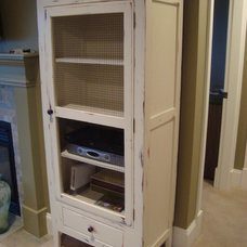 Traditional Storage Cabinets by Old Kranky's Custom Woodworking