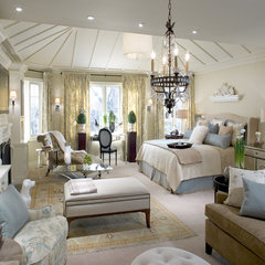 bedroom by A. Rejeanne Interiors